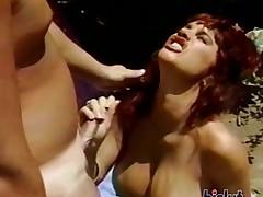 pelirrojas hardcore al aire libre mamada