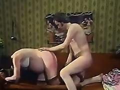 hardcore slikke brunette strømper