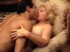 Blonde Grandma Fucking Vintage