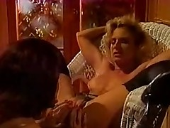 Lustful lesbo retro sluts in hot act and licking