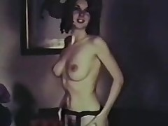 solo tynn hårete strippe