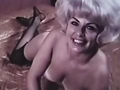 blonde tynn strippe strømpebånd belter