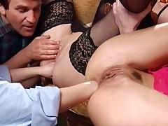 sædsprut anal dobbel penetrasjon vintage