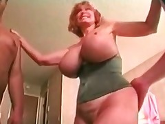 Mature Large Titted Patty Plenty Gets Spit roasted