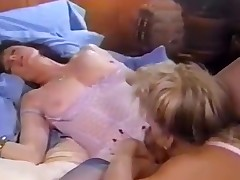 Woman tongue in oozing vulva
