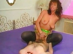 moden rødhårete hardcore anal