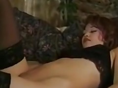 Hot retro lesbian action with lots of sexy muff licking