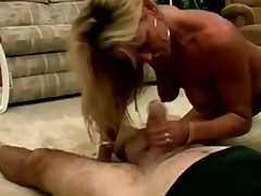 puling blowjob blonde klassisk