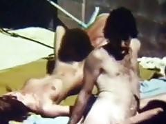 hardcore puling utendørs blowjob