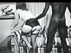 hardcore strømper interracial vintage