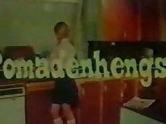 tysk vintage morsomt tenåring