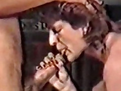 Mature giving oral stimulation (Classic German scene)