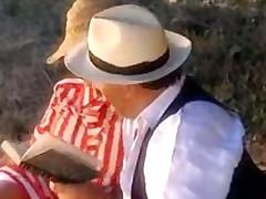 sæd italiensk anal utendørs