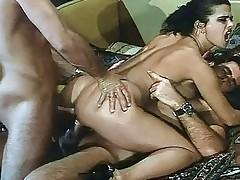 hardcore anal blowjob brunette