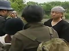hardcore utendørs asiatisk amatør