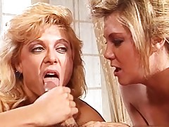 moden blowjob blonde oral