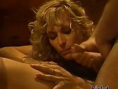 moden sucking blonde gruppe